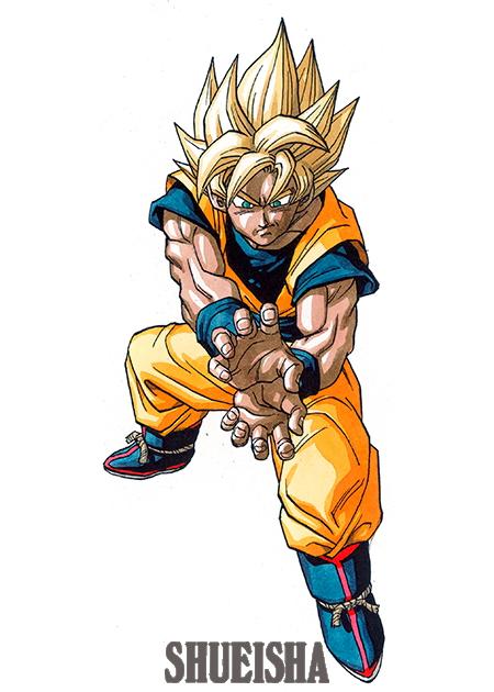Daizenshuu Goku Super Saiyan