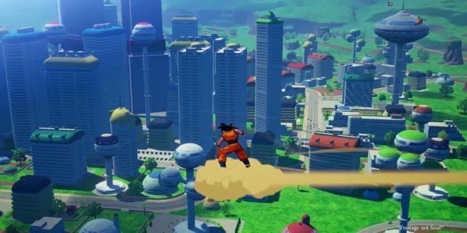 Dragon Ball Z Kakarot : Petite visite de Satan City en vidéo
