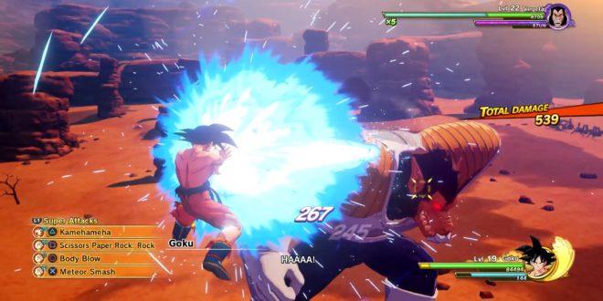 Dragon Ball Z Kakarot : Le combat de Goku contre Vegeta en intégralité