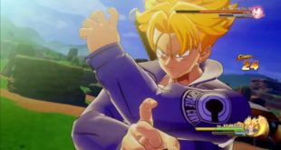 Dragon Ball Z Kakarot : Gameplay de Trunks du futur à la Jump Festa