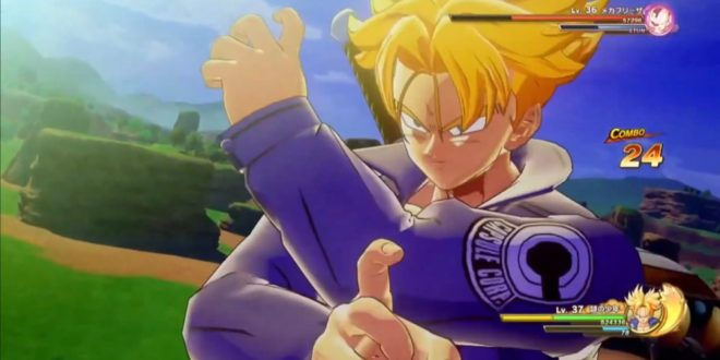 Dragon Ball Z Kakarot : Gameplay de Trunks du futur à la Jump Festa