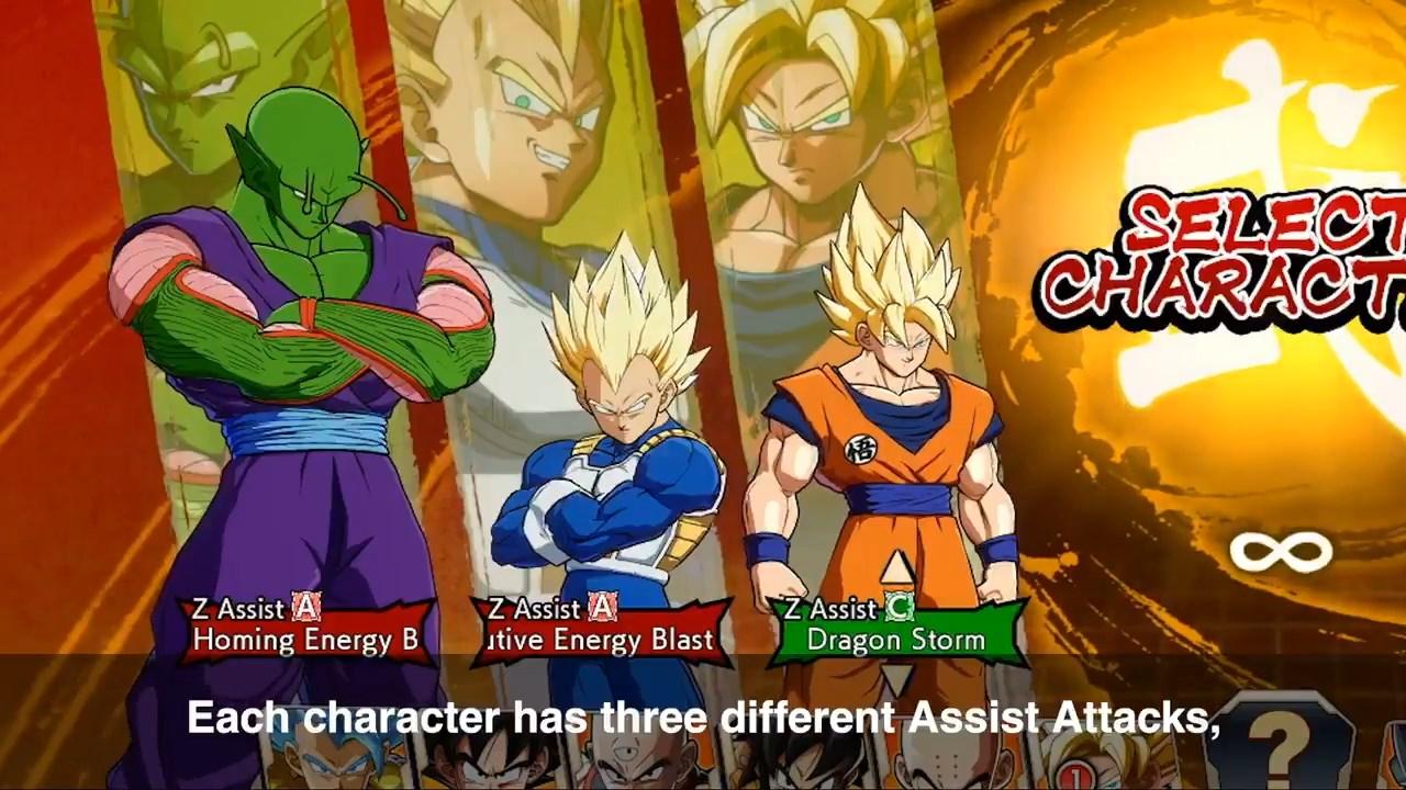 Dragon Ball FighterZ : Z Assist Select et autres nouveautés au programme de la Saison 3