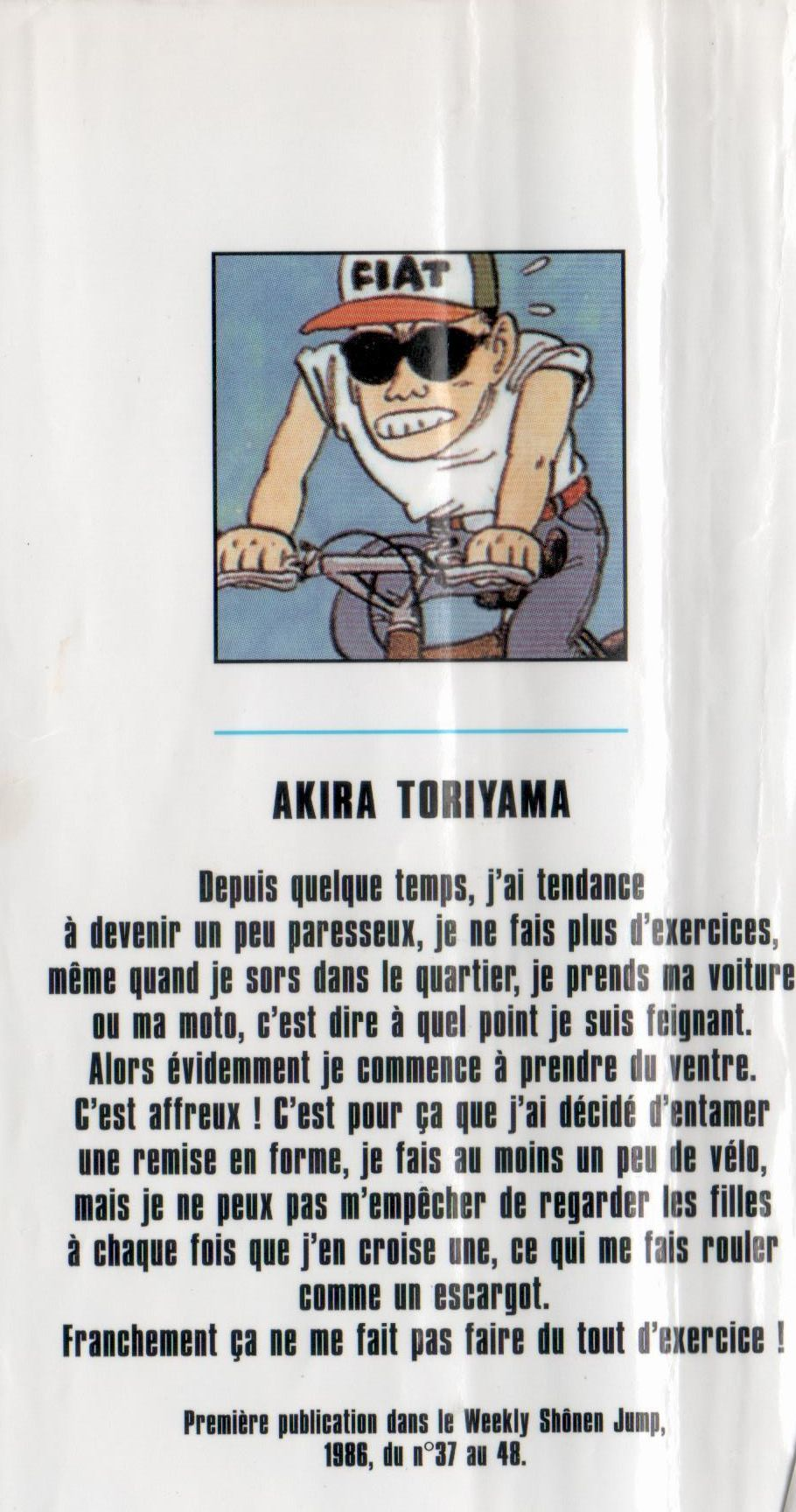 Toriyama (4ème volume de DB)