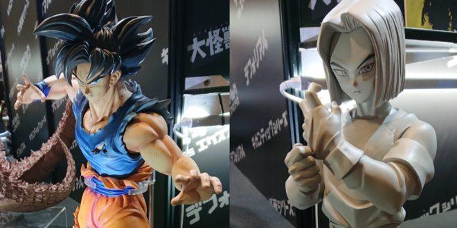 Nouvelles Gigantic Series de Goku Ultra Instinct non maitrisé et C17 annoncées