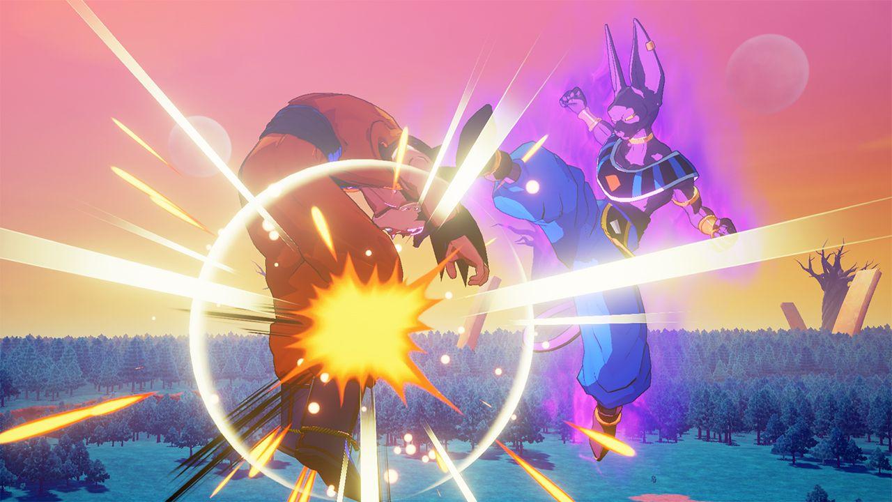 Dragon Ball Z Kakarot : Images HD du premier DLC