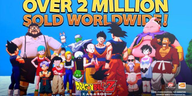 Dragon Ball Z Kakarot : 2 millions d'exemplaires vendus dans le monde