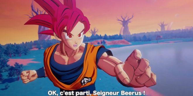 Dragon Ball Z Kakarot : Trailer du DLC « UN NOUVEAU POUVOIR S'ÉVEILLE – Partie 1 »