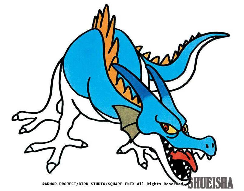 Dragon Bleu - Dragon Quest