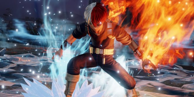 JUMP FORCE Shoto Todoroki