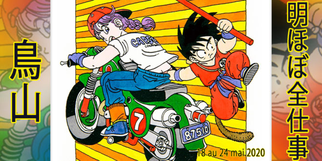 Presque toutes les œuvres d'Akira Toriyama – Semaine du 18 au 24 mai 2020 - Bulma et Goku
