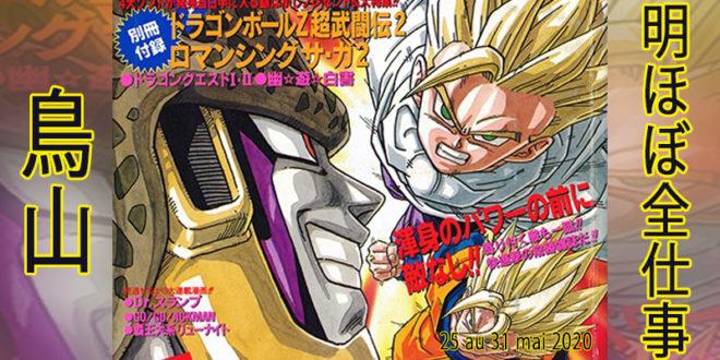 Presque toutes les œuvres d'Akira Toriyama – Semaine du 25 au 31 mai 2020 - Cell Game
