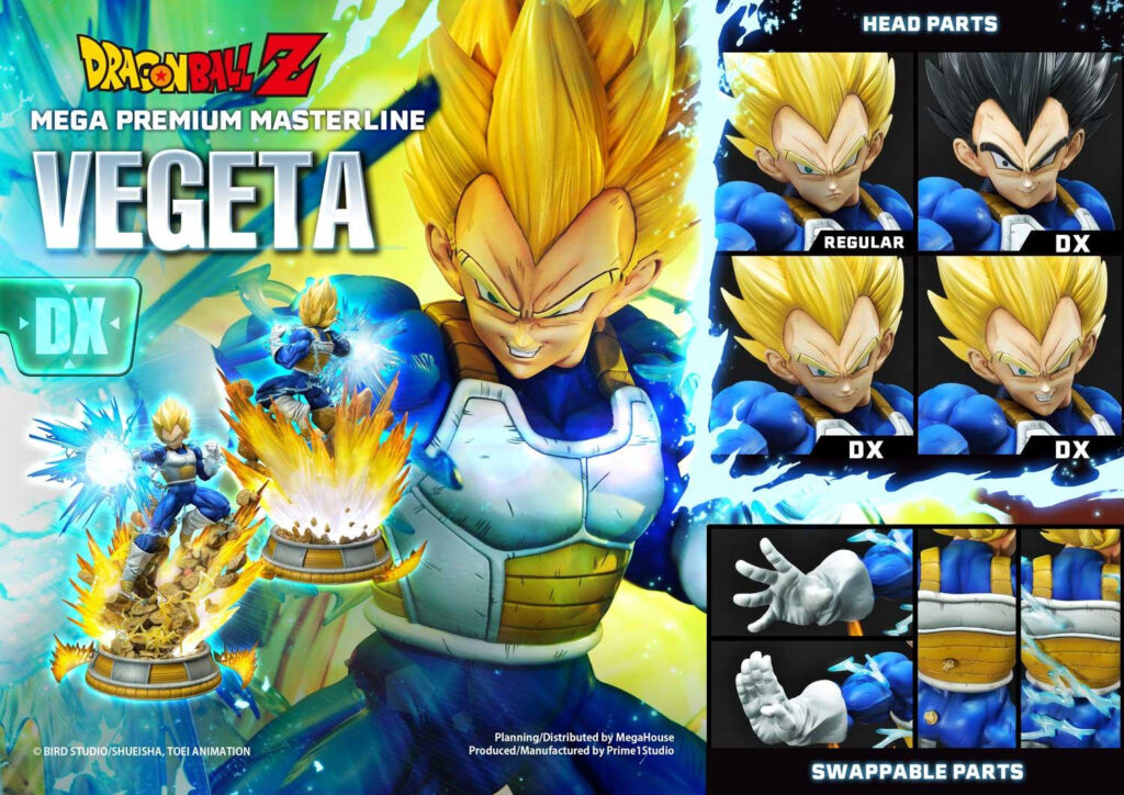 Vegeta Prime 1 Studio Megahouse DX