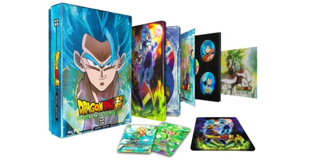 Dragon Ball Super BROLY  coffret prestige DVD Blu-ray