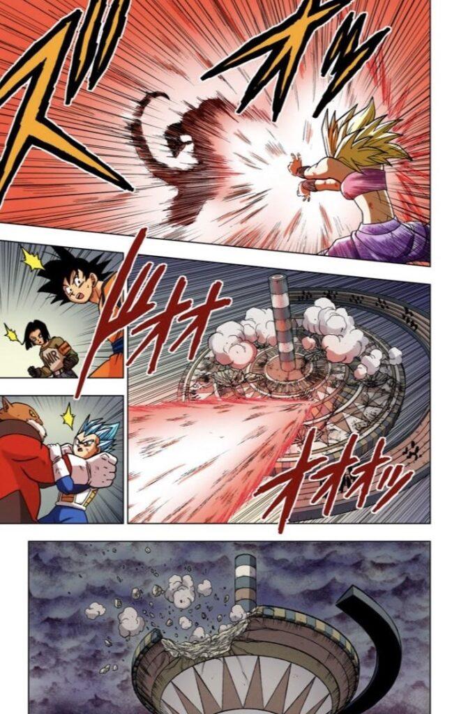 Dragon Ball Super tome 8 couleur