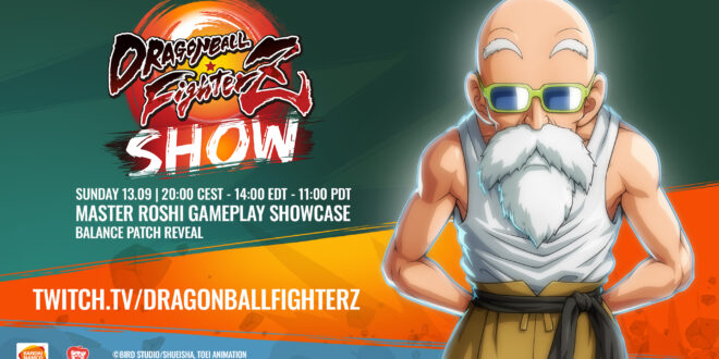 Dragon Ball FighterZ Show Roshi