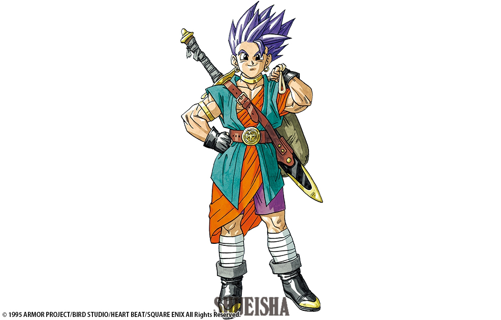 Héros Dragon Quest VI