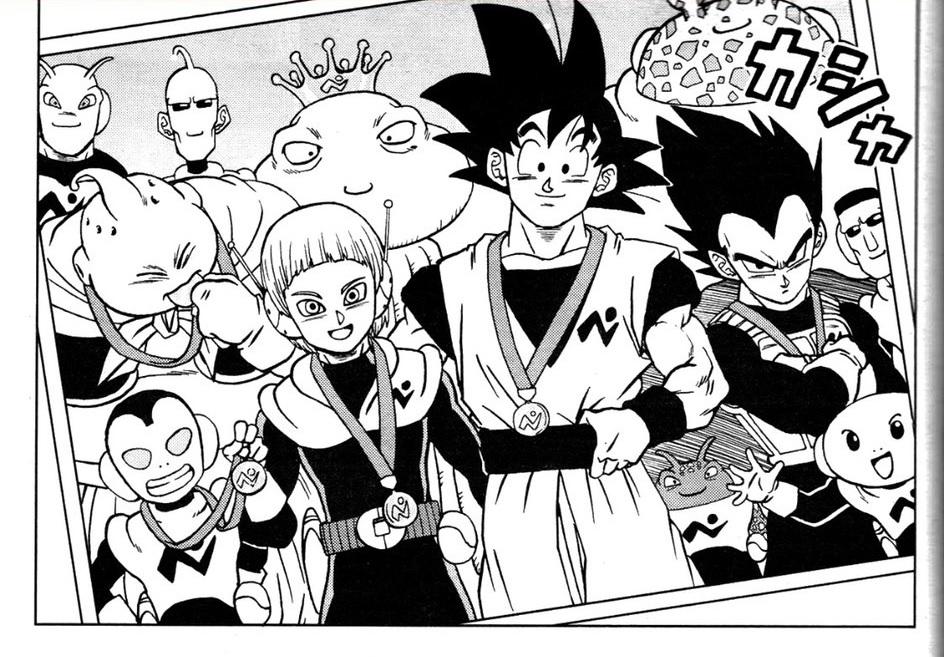 spoilers chapitre 67 Dragon Ball Super