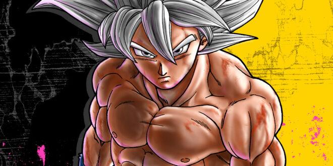 Fond d'écran Goku Ultra Instinct V-Jump
