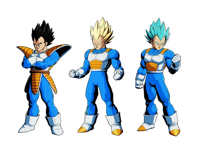 DB FighterZ - Colors Vegeta