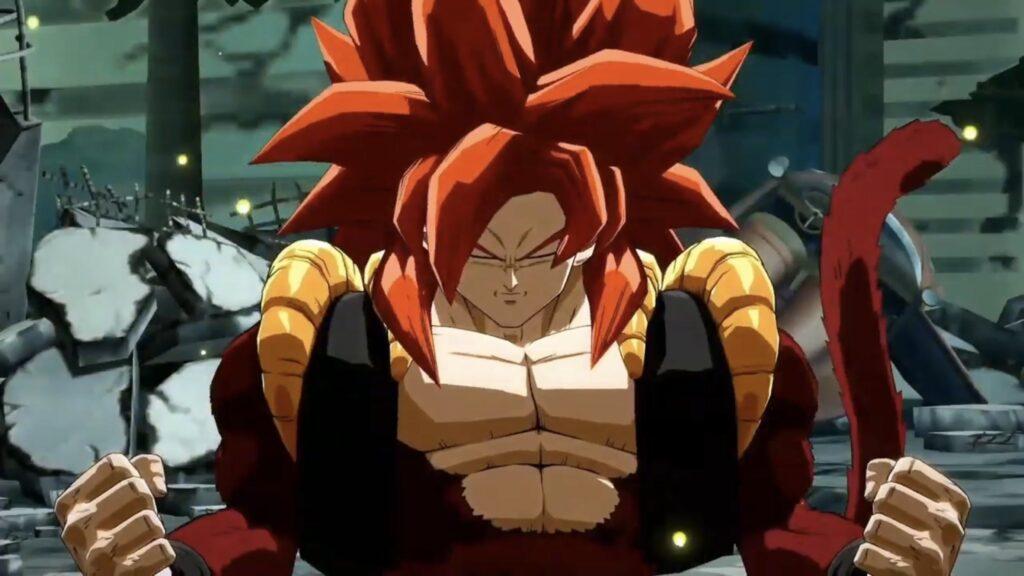 Dragon Ball FighterZ Baby Gogeta SSJ4