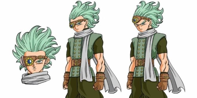 Dragon Ball Super character design Granola