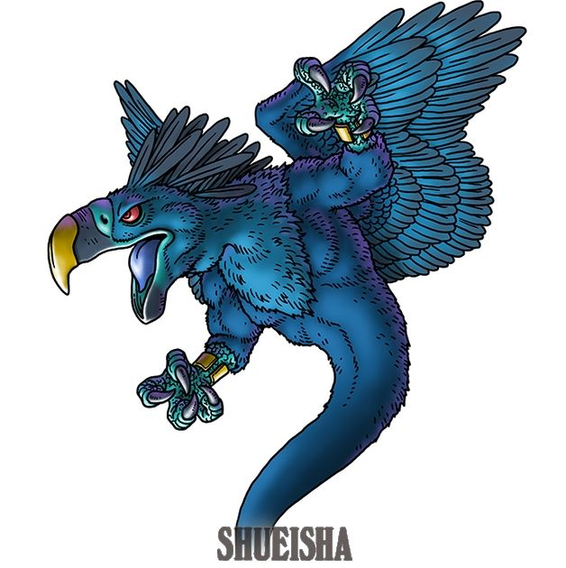 Blue Dragon - Phenix