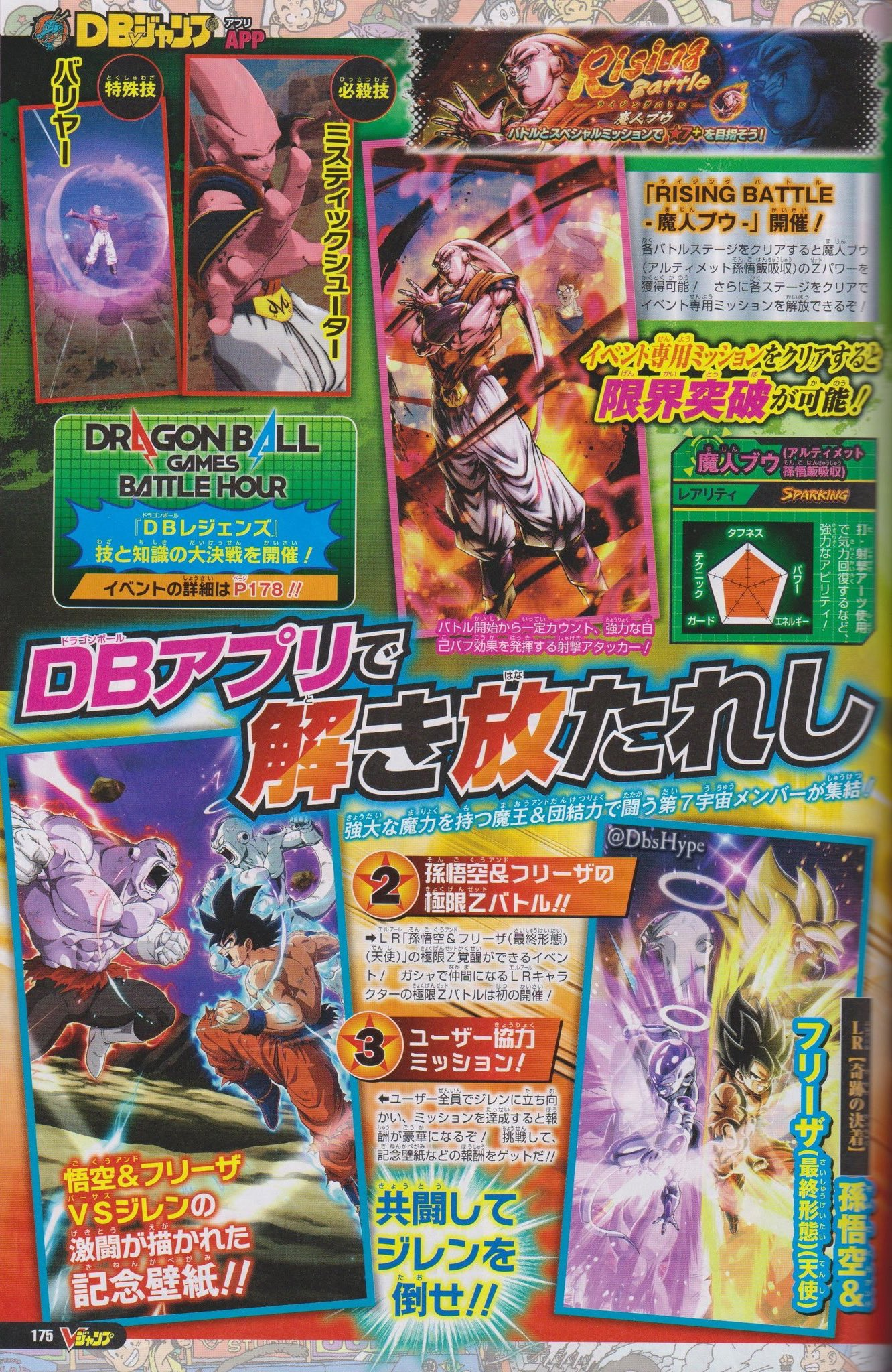 DBZ Dokkan Battle et DB Legends : Les news du V-Jump d'avril 2021