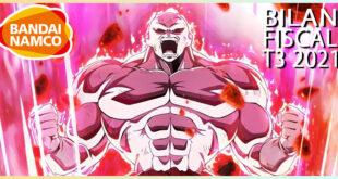 Dragon Ball – Résultats du 3ème Trimestre de l'année fiscale 2021 pour Bandai Namco