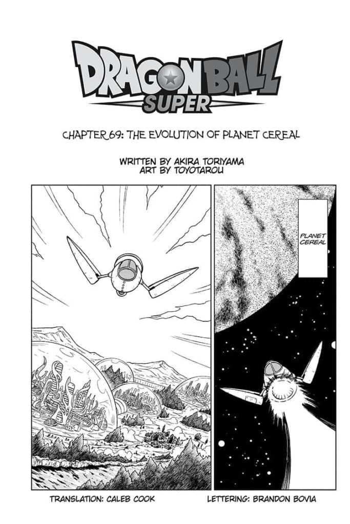 Dragon Ball Super Chapitre 69