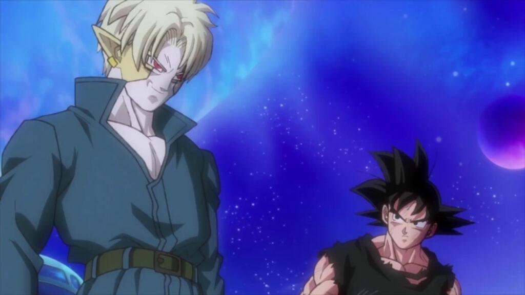Hearts et Goku