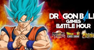 Suivez le Dragon Ball Games Battle Hour en direct ce weekend