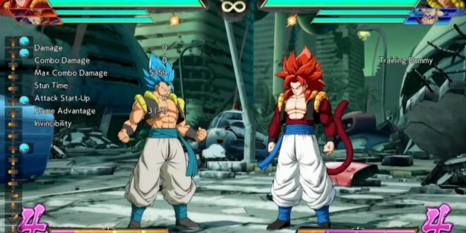 Dragon Ball FighterZ : 30 minutes de gameplay de Gogeta SSJ4