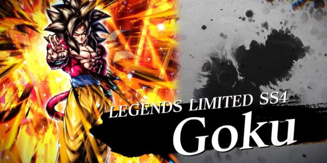 Dragon Ball Legends Goku 4 LEGENDS LIMITED