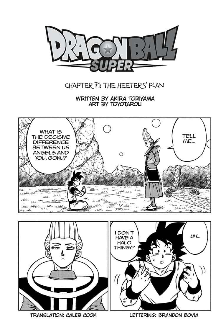 Dragon Ball Super Chapitre 71