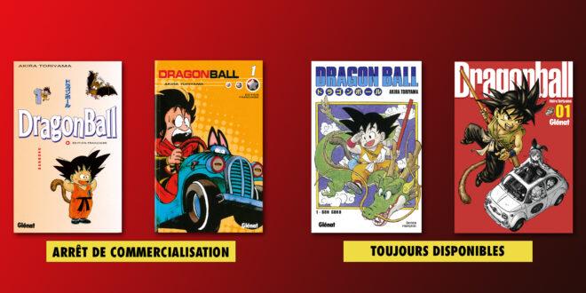 Glénat stoppe la commercialisation des éditions sens français de Dragon Ball