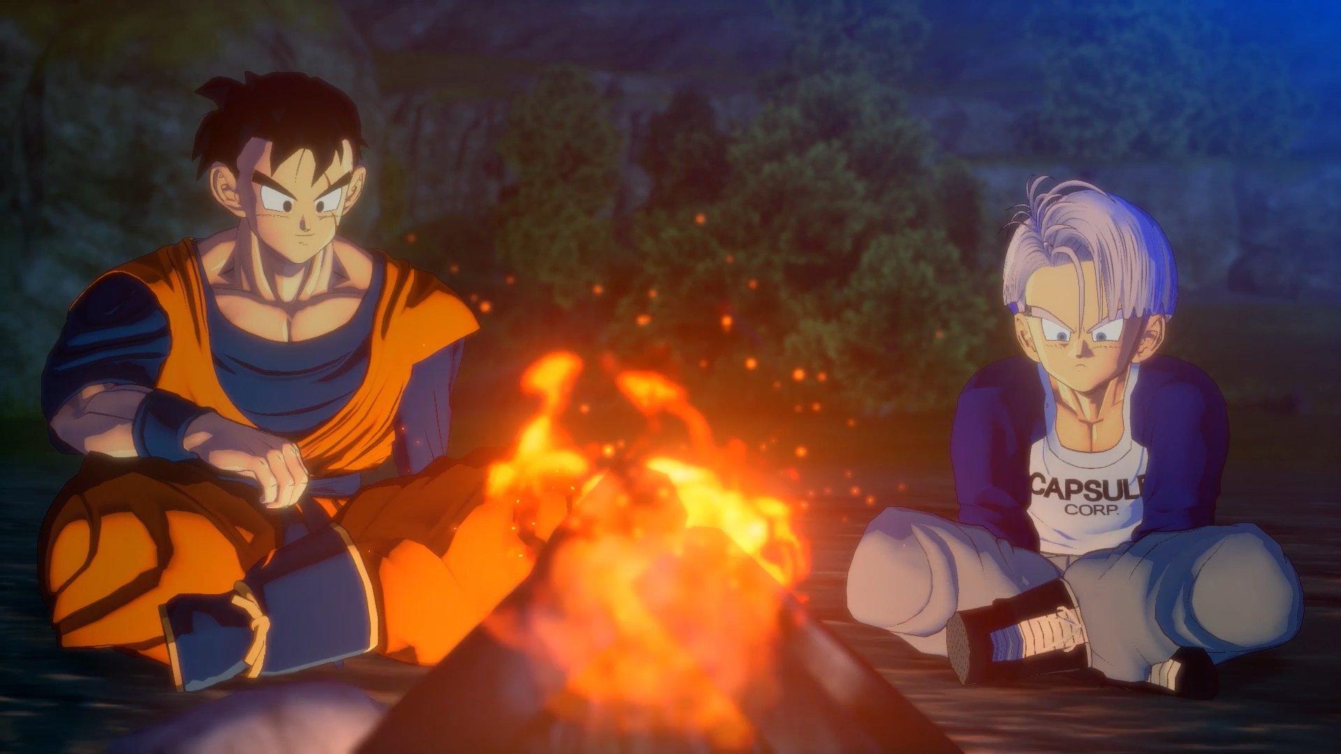 Dragon Ball Z Kakarot - Trunks et Gohan