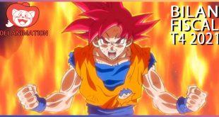 Dragon Ball – Résultats du 4ème Trimestre de l'année fiscale 2021 pour Toei Animation