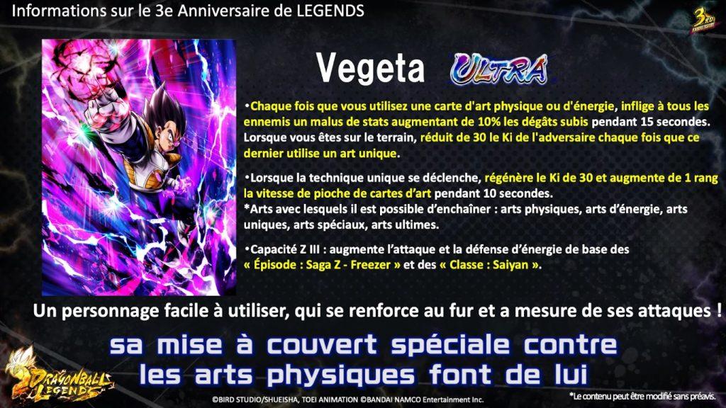 Dragon Ball Legends Vegeta Ultra