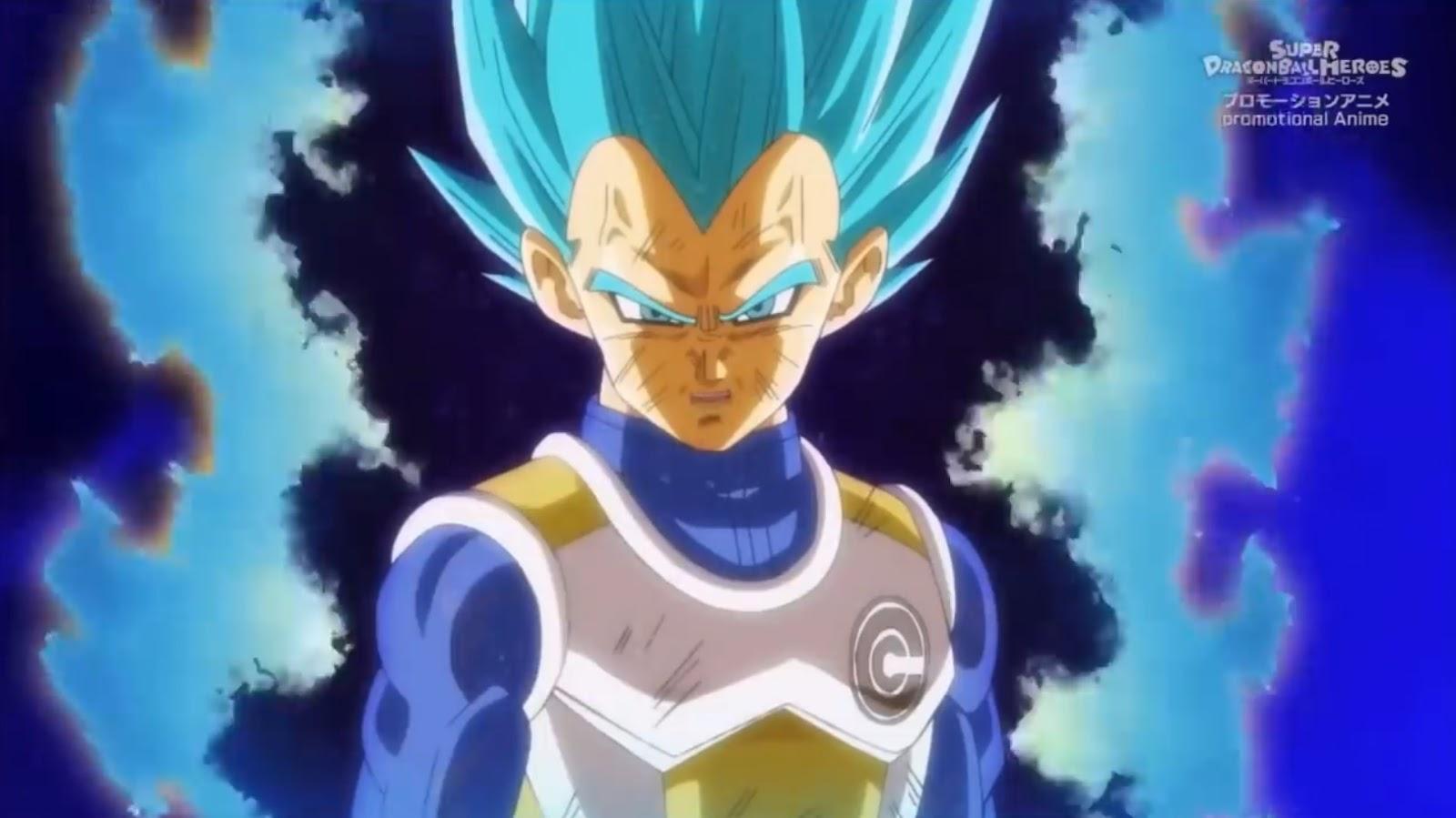 Vegeta Berserker controlled - Super Dragon Ball Heroes Big Bang Mission 8
