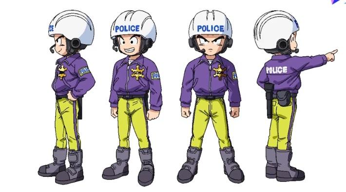 Dragon Ball Super - Super Hero Chara design Pan
