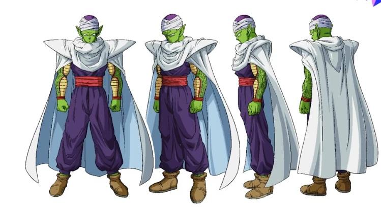 Dragon Ball Super - Super Hero Chara design Piccolo