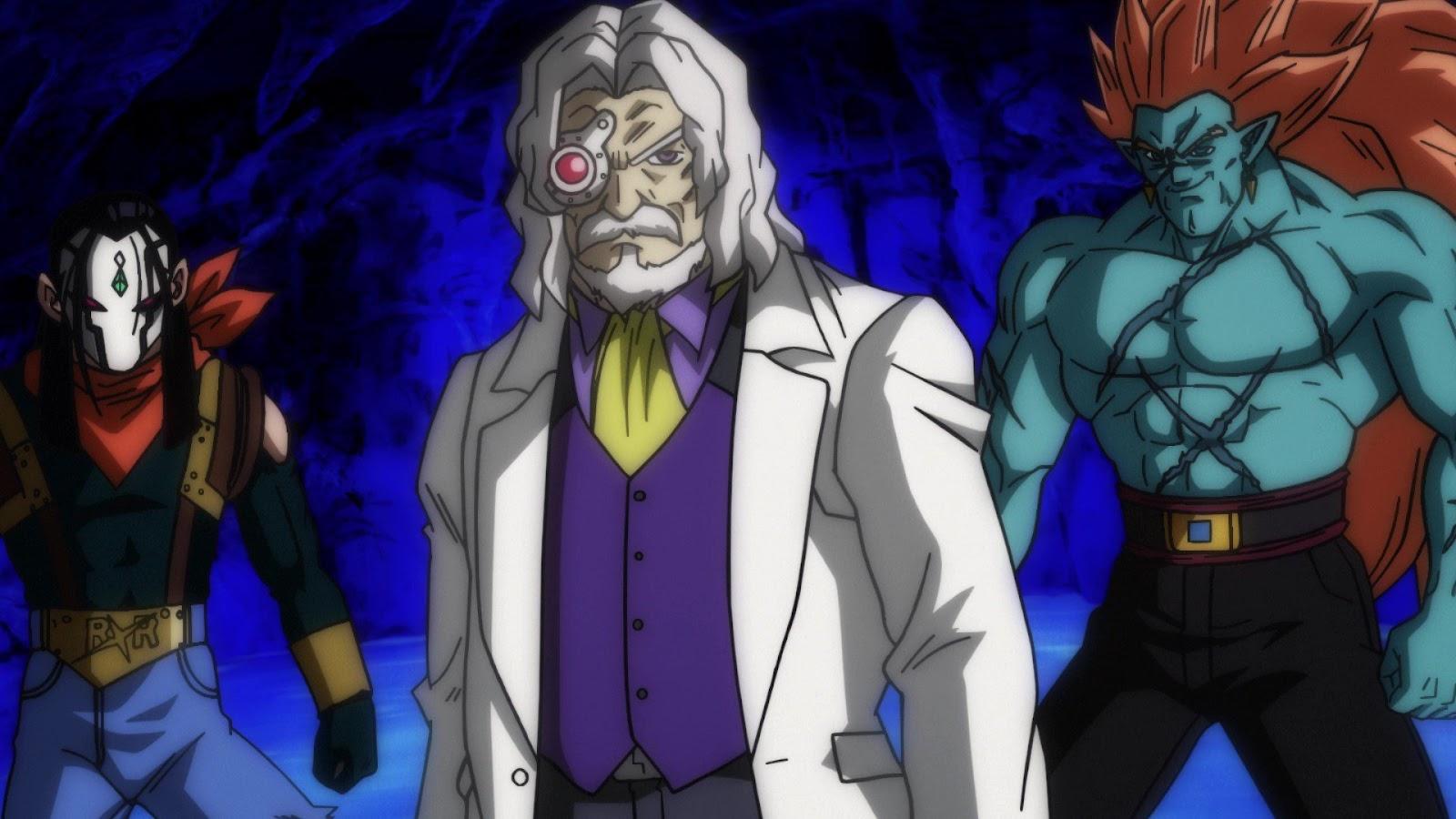 Super Dragon Ball Heroes - Dr.W - Bojack - Super C17