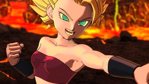 Dragon Ball Xenoverse 2 Caulifla