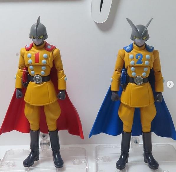 Gamma 1 et 2 - S.H Figuarts Dragon Ball Super Super Hero