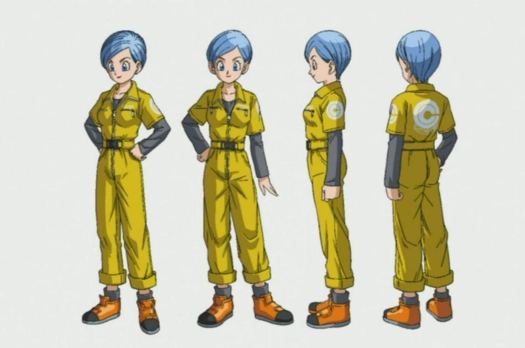Chara design Bulma - Super Super Hero Dragon Ball