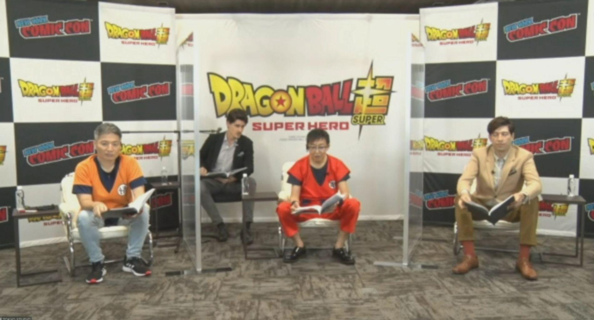 Recapitulação do painel da Comic-Con dedicado ao novo filme Dragon Ball Super 2022: Super Hero